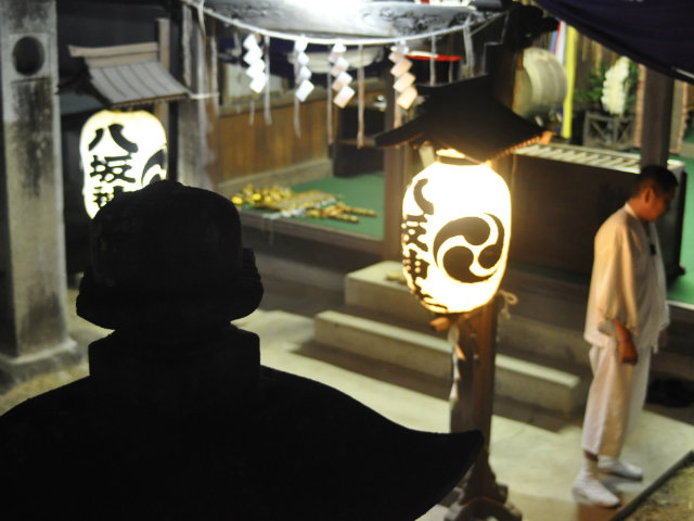 八坂神社の提灯