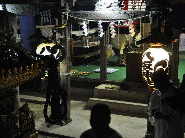 八坂神社,神輿納め