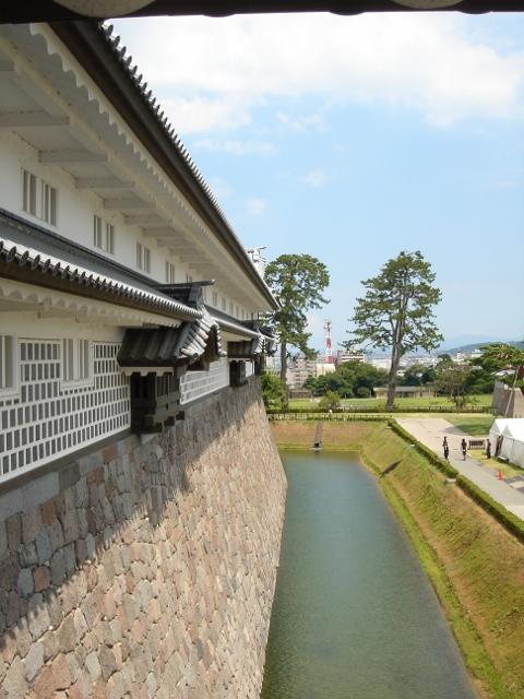金沢城,石垣