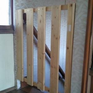 階段落下防止柵