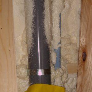 配管裏側隙間