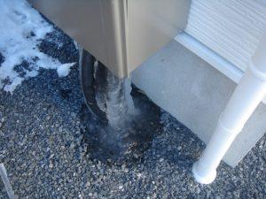 給湯器の水漏れ